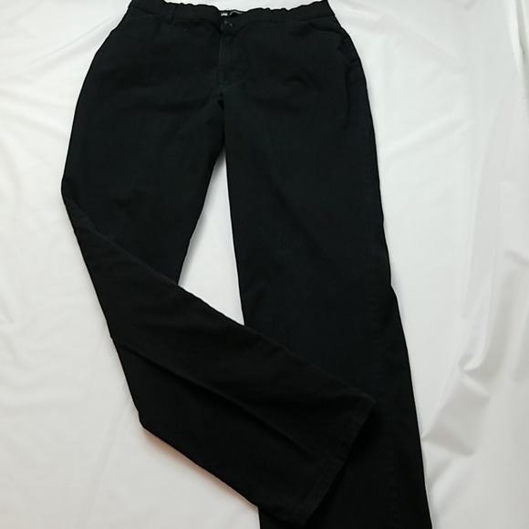 a22eca92 Lee Pants | Womens Black Stretch Chinos Sz 14 Tall | Poshmark